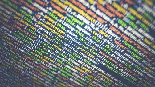 Hacked website code