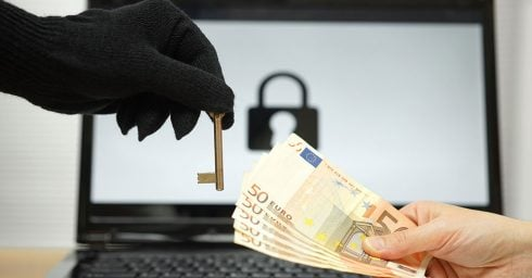 website hacked infected with ransomware